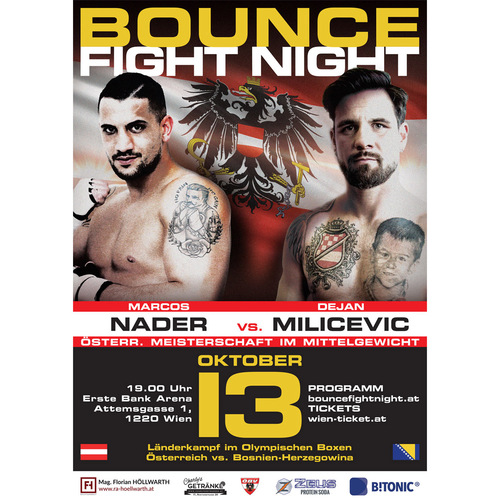Runde 2 für die Bounce Fight Night