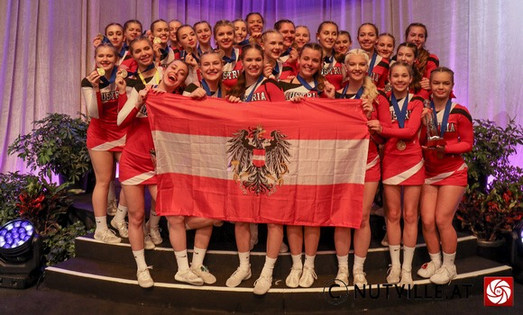 WM Bronze für ÖBV Danube Dragons Cheerleader
