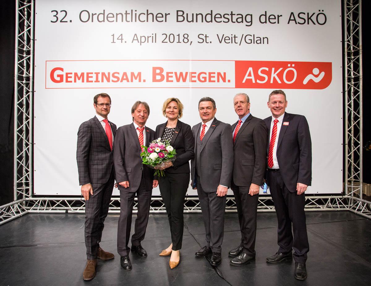 Hermann Krist als Präsident der ASKÖ wiedergewählt