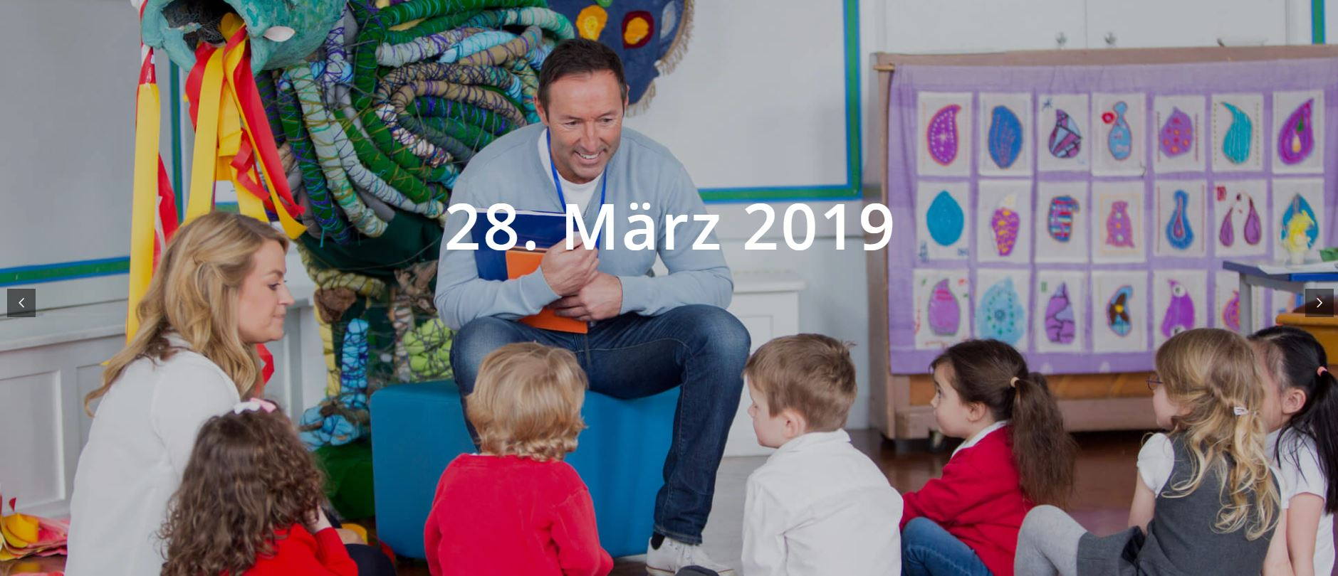 Österreichweiter Vorlesetag am 28. März