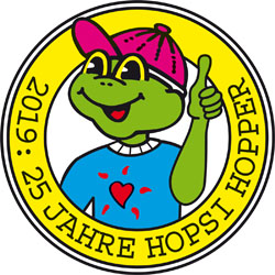 Hopsi Hoppers Mission seit 25 Jahren