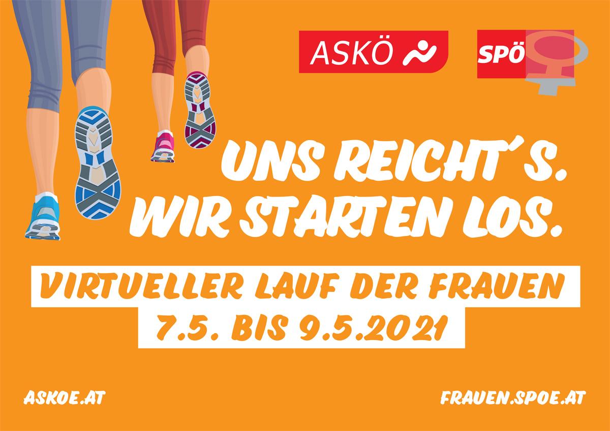 Neuer Termin: Virtueller Lauf/Walk der Frauen 2021